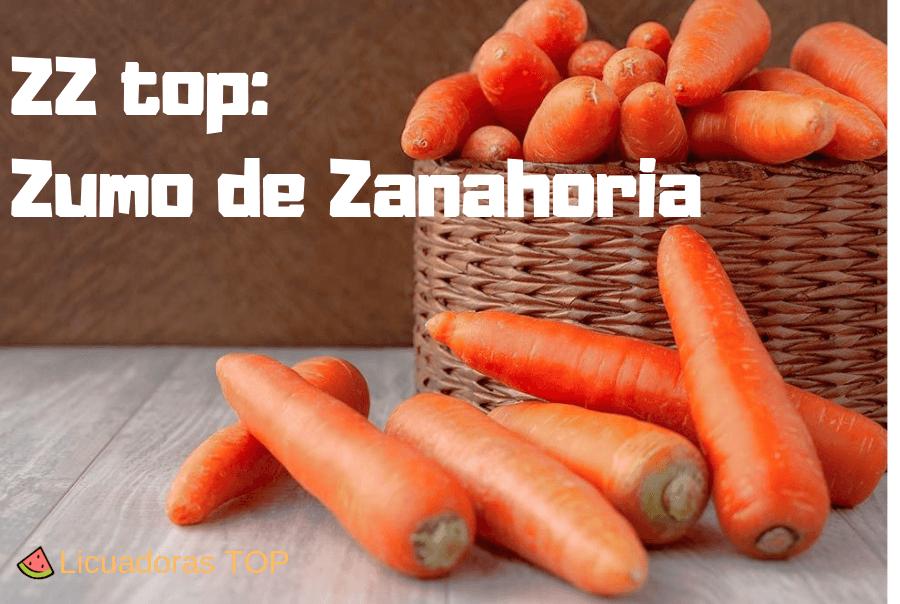 ZZ top: Zumo de zanahoria