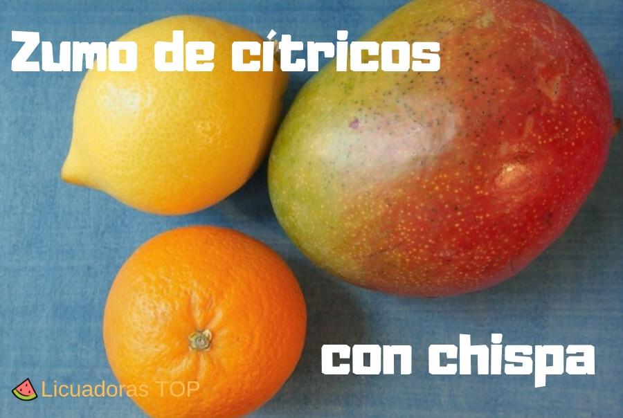 Portada de zumo de citricos